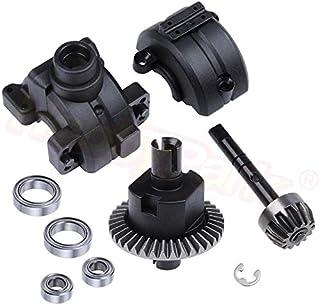 car parts - Front / Rear Gear Box Complete Set Drive & Diff Gear For HSP 1:10 RC Car Parts 02024 02051 02030 03015 94123 9...