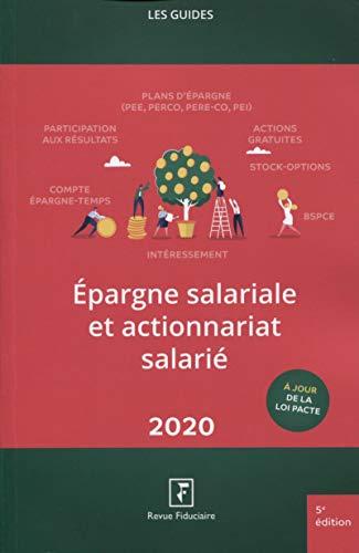 Epargne salariale et actionnariat salarié 2020