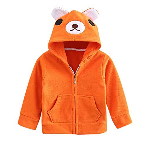 Mantel baby jongens meisjes lente herfst dier hoodie jas capuchon sweatshirt voor 1-6 jaar sport top met capuchon dierenprint blouse lange mouwen T-shirt pullover