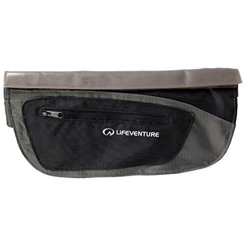 Lifeventure Body Wallet Dripouch - Equipo de Cintura Bolsa de Viaje Pack Negro, Negro, Talla Única