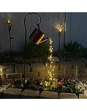 LED String Light, Gieter Lamp, Star Douche Tuin Lights, Sterrenfee Nachtlampje, Romantische Decoratieve Verlichting voor Yard, Tuin, Pad