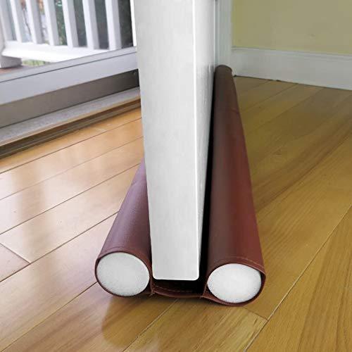 TEJEN すきま風ストッパー? 隙間テープ 冷暖房効率アップ ホコリ侵入防止 ホコリ侵入防止 防虫 騒音軽減 (コーヒー色)