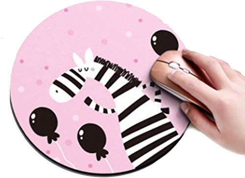 MYLB Tappetino per Mouse Tondo,(Diameter 200 x Thickness 3mm) Round Gaming Mouse Pad, per Gaming, Ufficio, Laptop (#005)