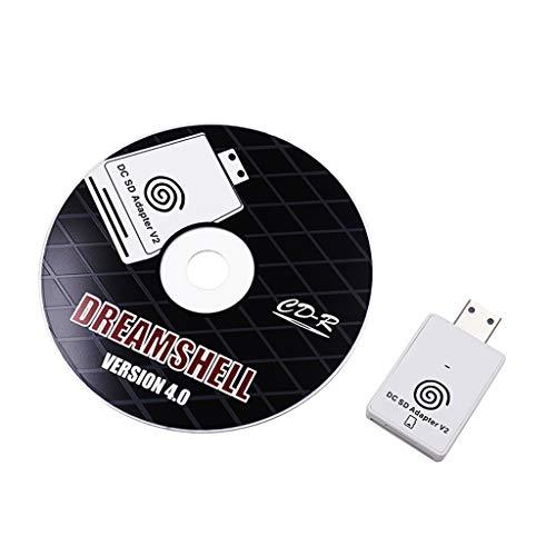 Ixkbiced para la Consola de Juegos Sega DC Lector de Tarjetas SD TF Sega Dreamcast Dreamshell v4.