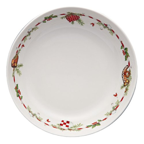 hutschreuter 02460–725492–10350–Piatto fondo porcellana multicolore