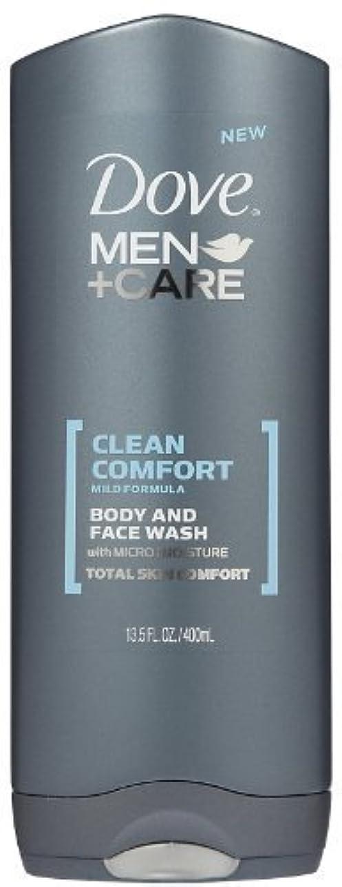 アジア成熟したぐったりDove Men +Care Body and Face Wash - Ultra Rich Velvet - 13.5 oz by Dove [並行輸入品]