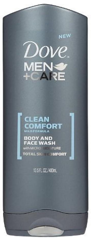 長さ日常的に机Dove Men +Care Body and Face Wash - Ultra Rich Velvet - 13.5 oz by Dove [並行輸入品]