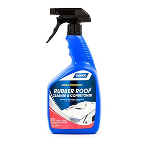 Camco 41063 Rubber Roof Cleaner & Conditioner For RV, Camper Or Trail