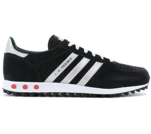adidas Schuhe – La Trainer J schwarz/silber/weiß Größe: 35.5