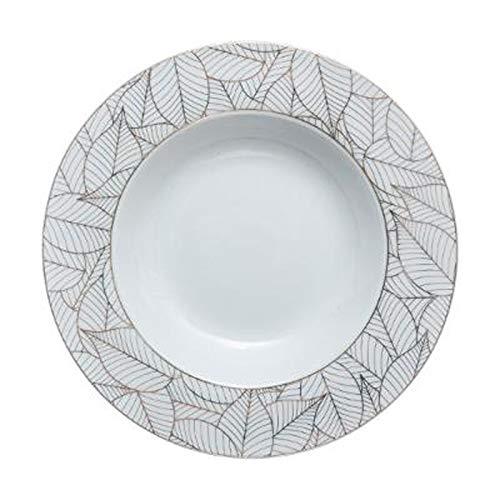 Secret de Gourmet - Lot de 6 Assiettes Creuses Porcelaine\