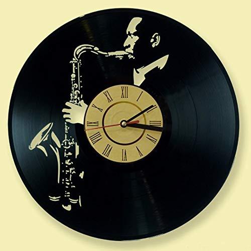 wtnhz LED Colorful vinyl wall clock Modern design wall clock CD record wall clock