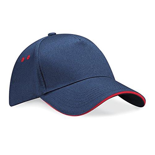 Beechfield B015 Ultimate Cap / Schirmmütze, 5Panels, Unisex, für Erwachsene, UTRW222_15, Mehrfarbig, UTRW222_15 onesize