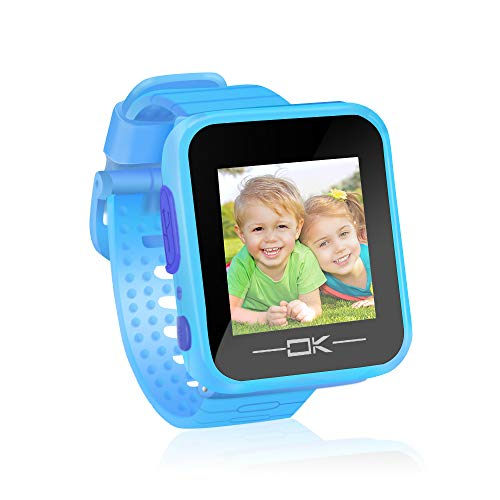 Pussan Kids Smart Watch for Boys Kids Toddler Smart Watch Toys for 3-10 Year Old Boys Kids Smartwatch Age 3 4 5 6 7 Multi-Function Game Watch with Camera Christmas Birthday Gifts for Kids Children