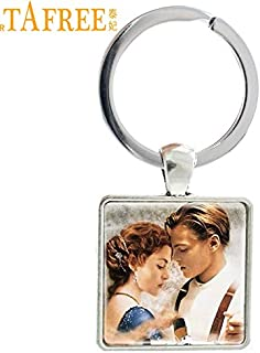 Key Chains - Fashion Jewelry Trendy Charm Jack and Rose Titanic Keychains for Women Men Love Story Gift E425 - by Mct12-1 PCs