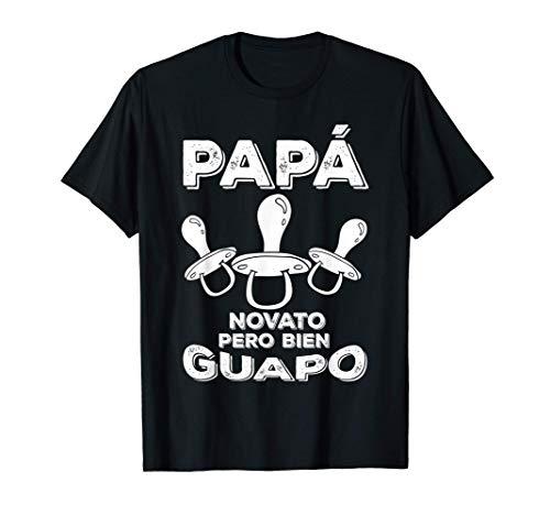 Hombre Papa Novato Pero Bien Guapo Dad Dia Del Padre Hombre Regalo Camiseta