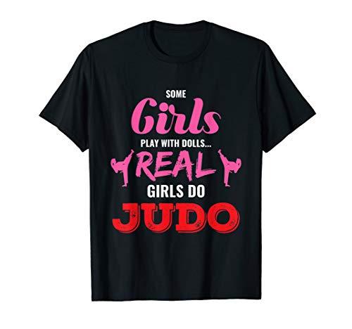 Einige Mädchen spielen mit Puppen Judo Fun T-Shirt