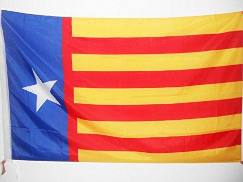 AZ FLAG Bandera de la Comunidad Valenciana INDEPENDENTISTA 90x60cm para Palo - Bandera REGIONALISMO Valenciano - SENYERA Valencia 60 x 90 cm