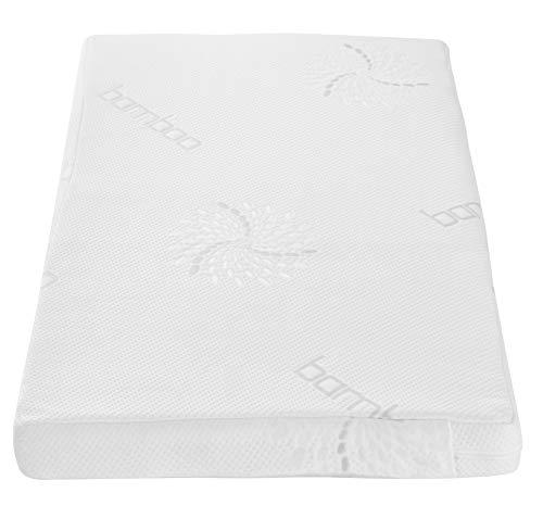 Tutti Bambini Coir Fibre Cot Bed Mattress (70 cm X 140cm) Made from Natural Breathable Hypoallergenic Coir Fibres