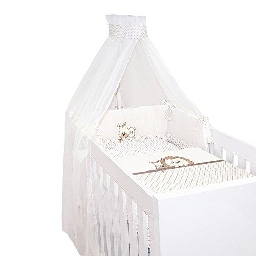 BORNINO HOME Parure de lit 4 pièces Leon & Co. accessoires de lit, beige-naturel