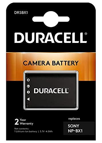 Duracell DRSBX1 - Batería para Sony Camera HX50V (3.5 W, 3.7 V, 950 mAh), Negro