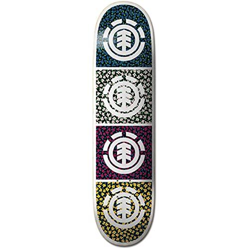 Element Ditsy - Tavola da skateboard Quad da 19,1 cm