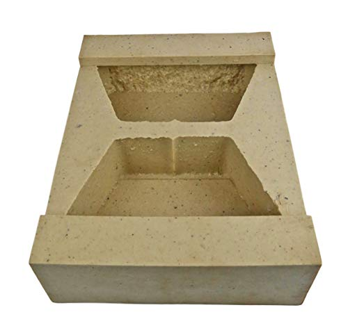 Veneer Stone Rubber Molds for Concrete, Retaining Wall Block 11.5', Recycled Material