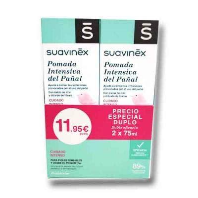 Duplo Suavinex Pomada Intensiva Pañal 2 x 75 ml