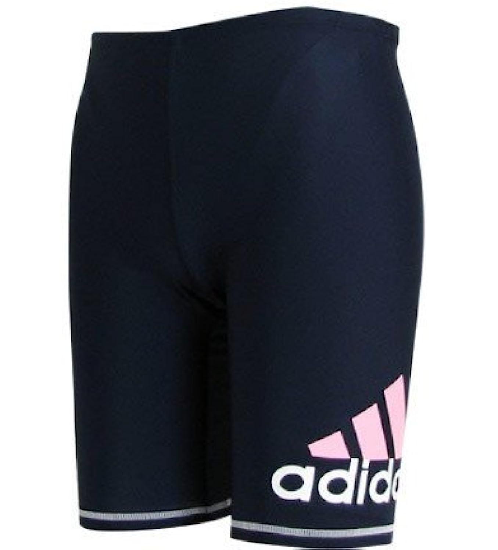 (アディダス) adidas キッズ ラッシュパンツ 100 紺/白/ピンク