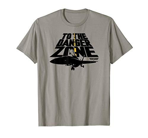 Adults Top Gun Danger Zone T-Shirt, 7 Colors, S o 3XL