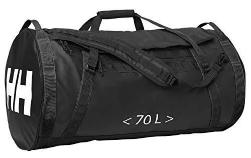 Helly Hansen DUFFEL BAG 2 – Sporttasche mit 70L Fassungsvermögen – Besonders weich & wasserabweisend , Schwarz (Black )