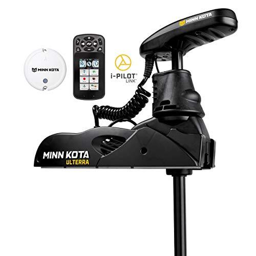 Minn Kota Ulterra - Motor de pesca de agua dulce con eje de 60 pulgadas, MEGA Down Imaging, y i-Pilot Link GPS (24 voltios, 80 libras)