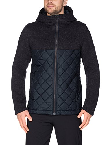 VAUDE Herren Men\'s Godhavn Padded Jacket Herrencampingoutdoorsoftshelljacken, Phantom Black, M