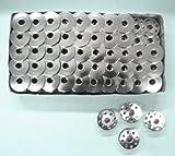 juki ddl 8300n - Cutex Brand 100 Metal Bobbins for Juki Ddl-8700 Single Needle Lockstitch Sewing Machines