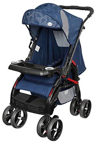 Carrinho de Bebê Upper, Tutti Baby, Azul