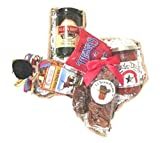 Taste of Texas Gift Basket in Texas State Shaped Basket