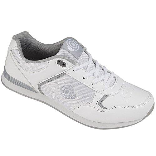 Dek Herren Bowl-Schuhe Geometric (45 EU) (Weiß)