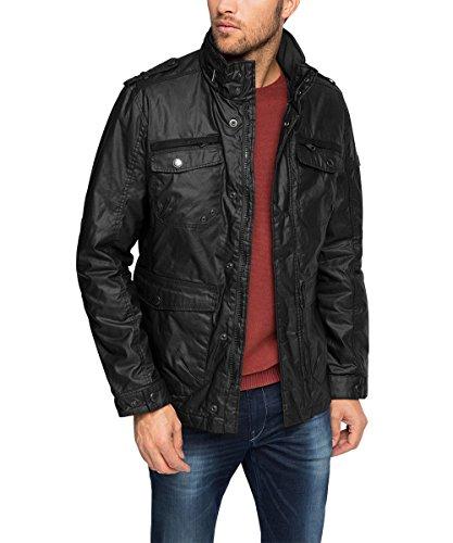 Esprit EDC 095CC2G010 Manteau, Noir (Black), Large (Taille Fabricant: DE: M) Homme