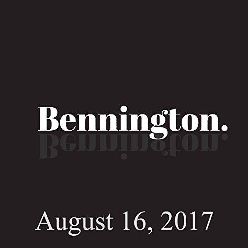 Bennington Archive, August 16, 2017 cover art