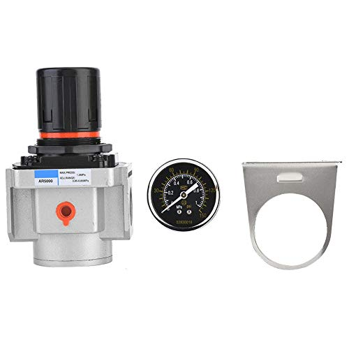 Drukregelaar, AR5000-06 SMC luchtdrukregelaar luchtbron compressor drukregelaar reduceerventiel