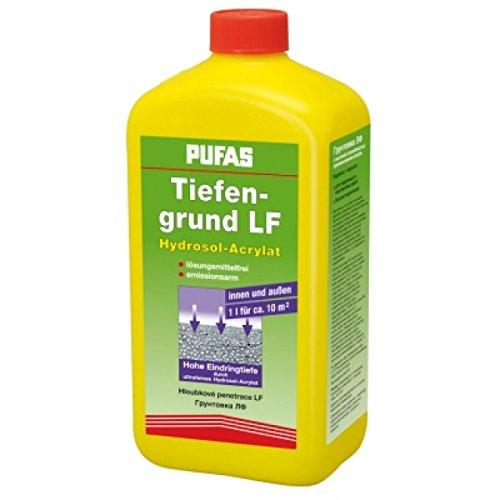 Pufas Tiefengrund LF 1 Ltr Hydrosol-Acrylat Tiefgrund Grundierung innen u. außen