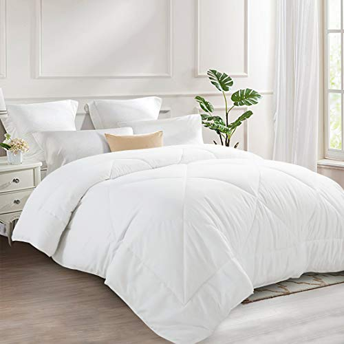 INGALIK All-Season Bed Comforter Best Soft Down Alternative Quilted Comforter - Winter Warm -...
