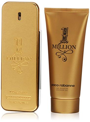Paco Rabanne 1 Million Geschenkset 100ml EDT Eau de Toilette Spray + 100ml Shower Gel