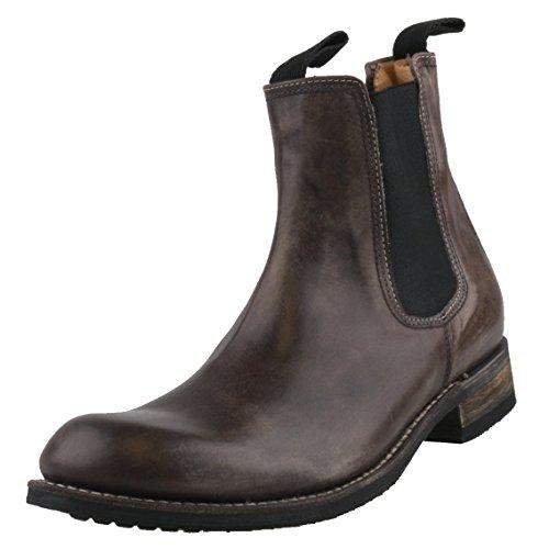 Sendra, 9535, laarzen voor heren, kleur antraciet