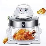 Horno tostador Air Fryer, horno tostador de convección Airfryer para hornear, pizza, descongelar, Sous Vide Utensilios de cocina saludables sin aceite