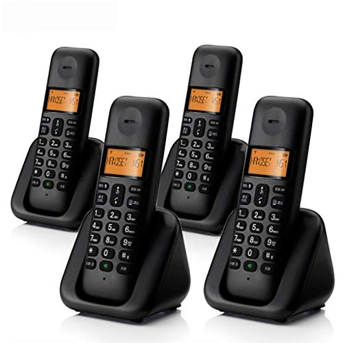 FLHAINVER Cordless Telephone Home Office Main Machine Single Machine Wireless landline Landline Home (Capacity : D)