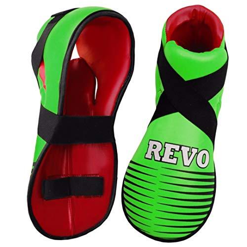 Revo Semi Contact Karate Boots Taekwondo Martial Arts Sparring Kick boxing...