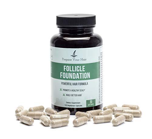 Follicle Foundation Powerful Hair Formula - Control Hair Loss & Thinning, Promote Healthy Scalp –...