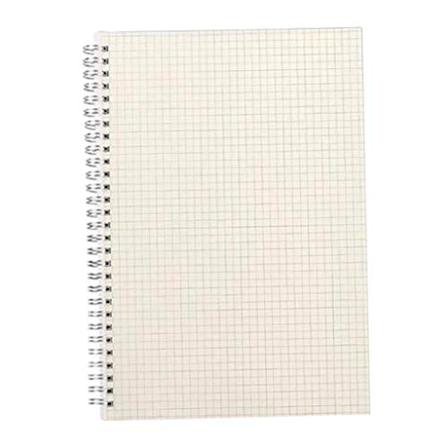 kowaku Cuaderno de Oficina en Espiral Clásico 80 Páginas Diario Planificador de Viajes Escritura 80 Hojas - Cuadrícula