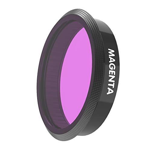 Gazechimp Tauchen Filter Schnorchelfilter Actionkamera Filter für DJI OSMO Action Unterwasserlinsen - Magenta