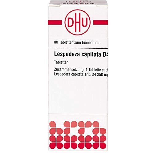 DHU Lespedeza sieboldii D4 Tabletten, 80 St. Tabletten